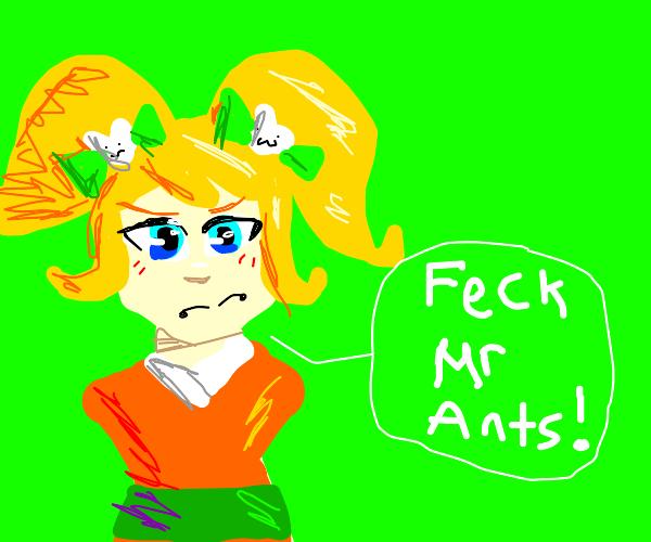 hiyoko says: Feck mr. ants!