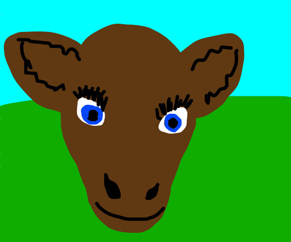 Cowception: Drawception bt all prompt are cow