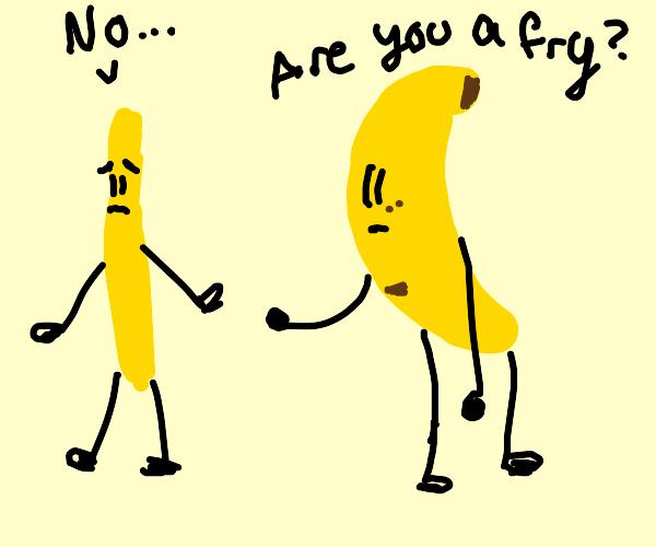 skinny banana