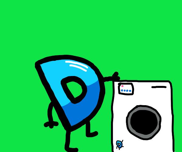 DrawceptionTM Washing Machine