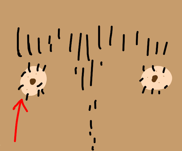 hairy nipples man