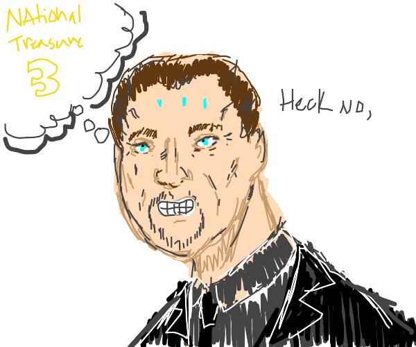 Nick Cage's worst nightmare