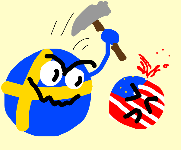 sweden kills america