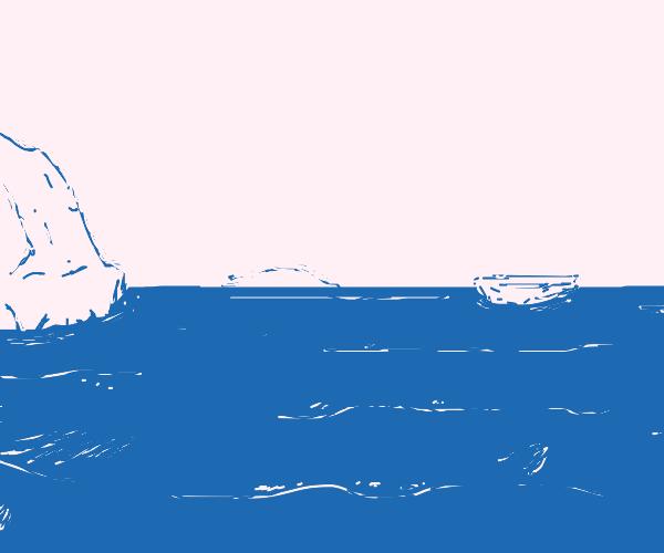 Ocean in the arctic