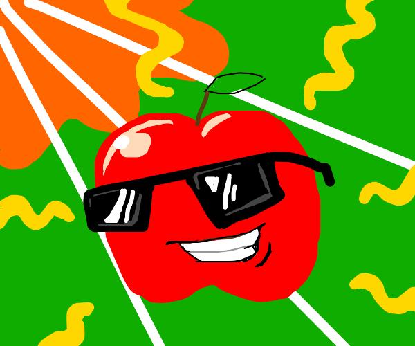 Apple smells too fresh