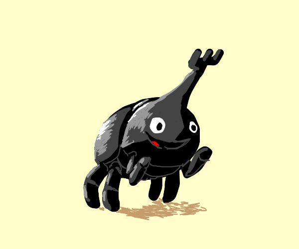 Beetle Celebrating