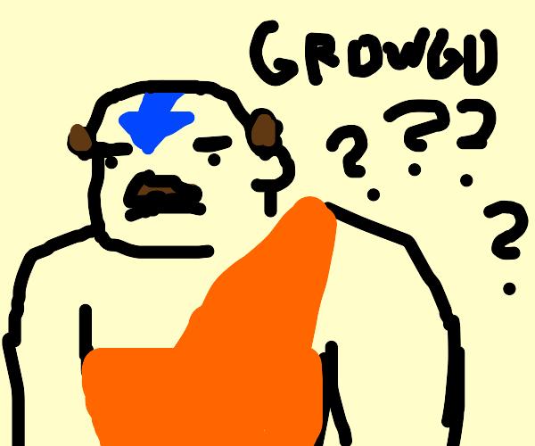 Growgu the last Airbender
