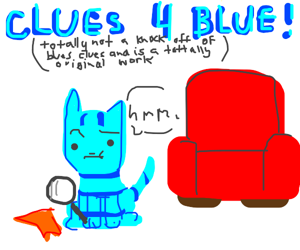 Clues for Blue