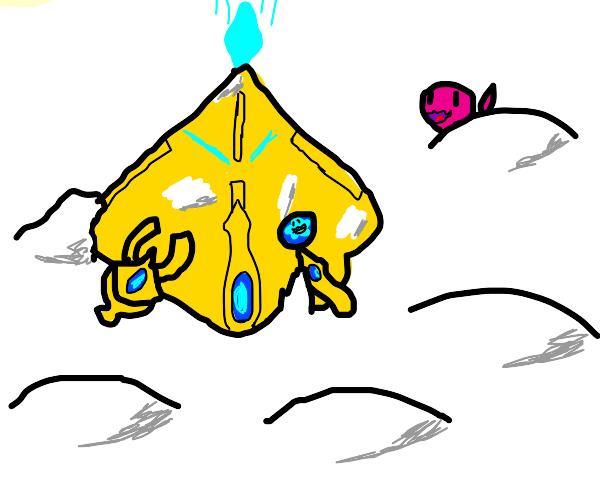 Starcraft nexus on snow