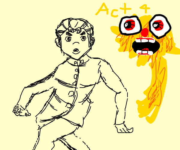 Koichi's new and improved stand