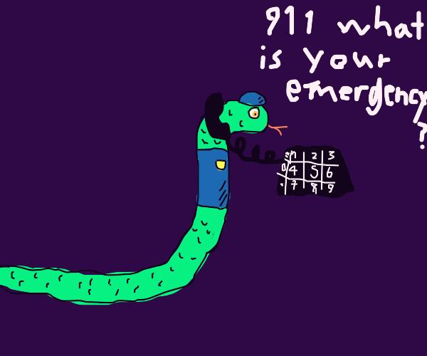 Snake 911 operator