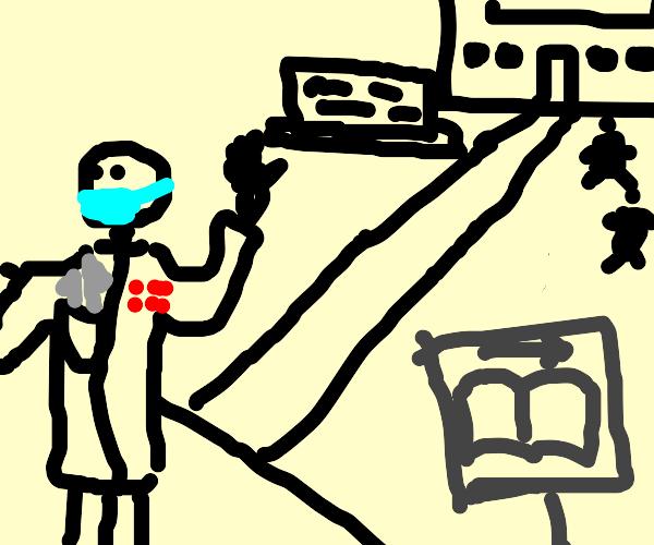 Danish surgeon is too kool 4 skool