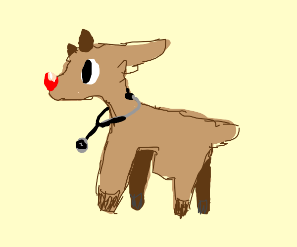 Dr. Rudolph (the red nose reindeer)