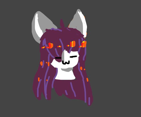 Anime cat girl?