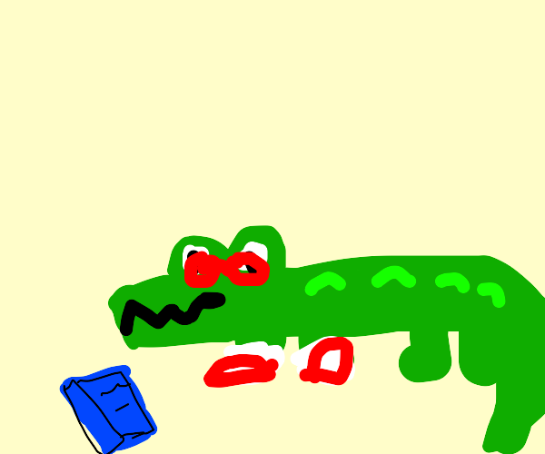 Geeky Crocodile