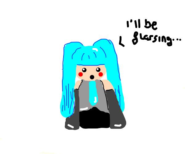 Flossing Harding Miku
