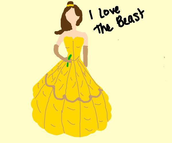 Princess Belle has Stockholm Syndrome
