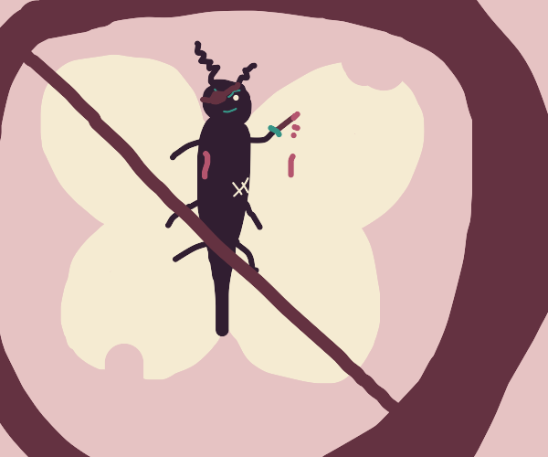 Moth danger
