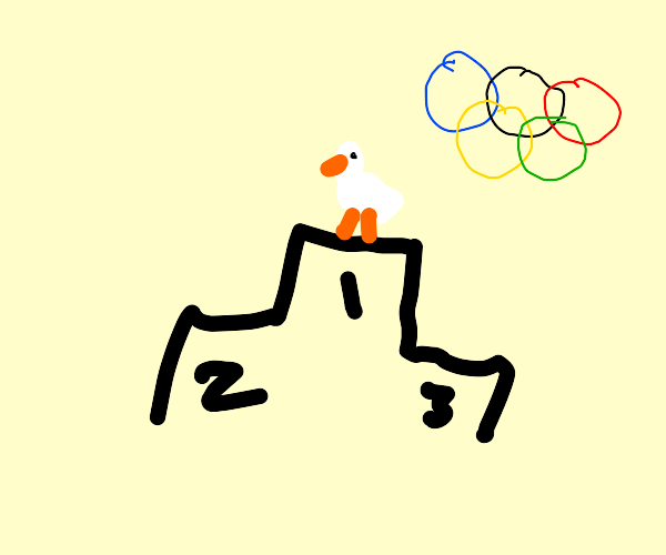 Ugly Duckling won the olympics