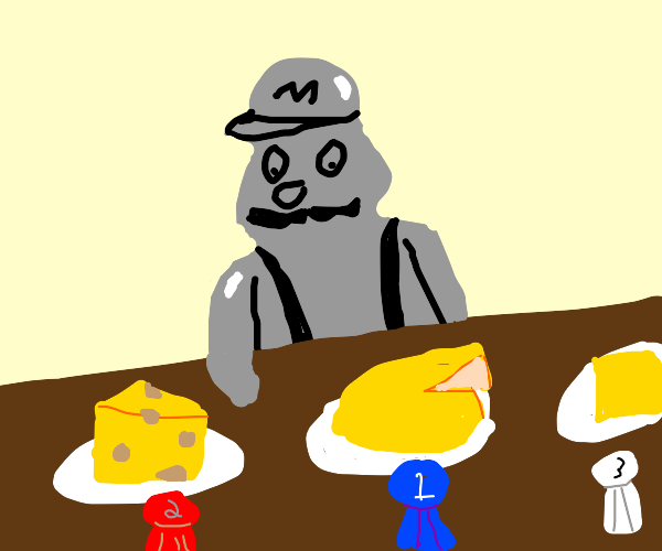 Metal mario's Cheese contest