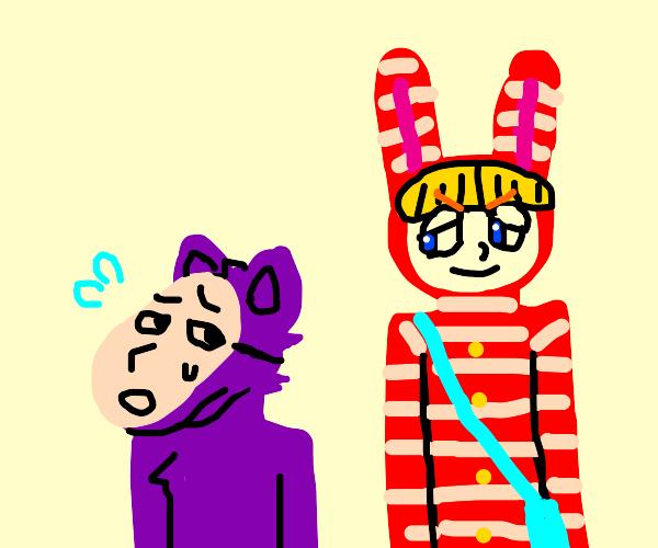 kedamono and popee