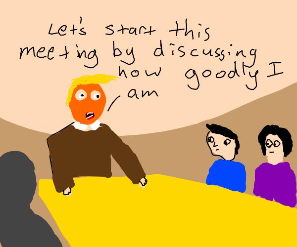 Donald Trump meeting's
