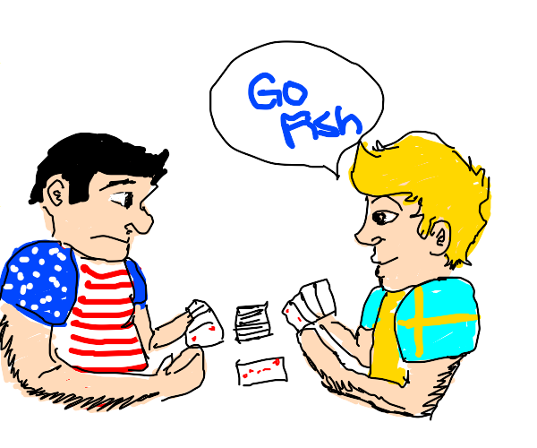 america and sweden playing games