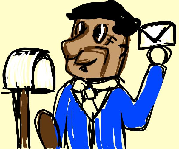 flinstone postman