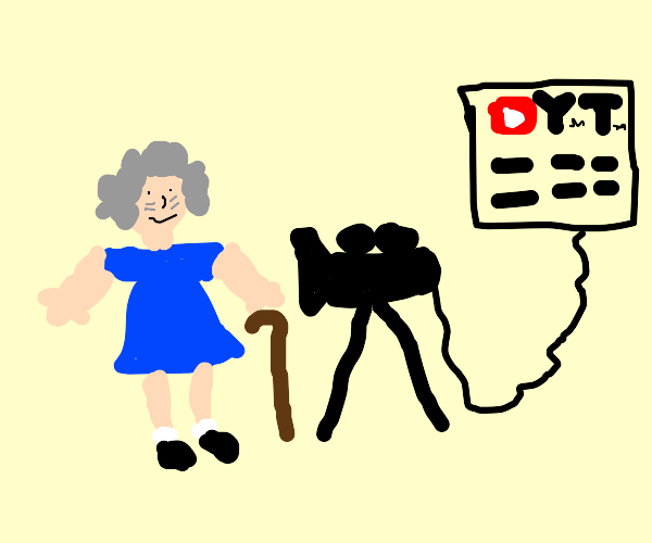 Grandmother YouTuber