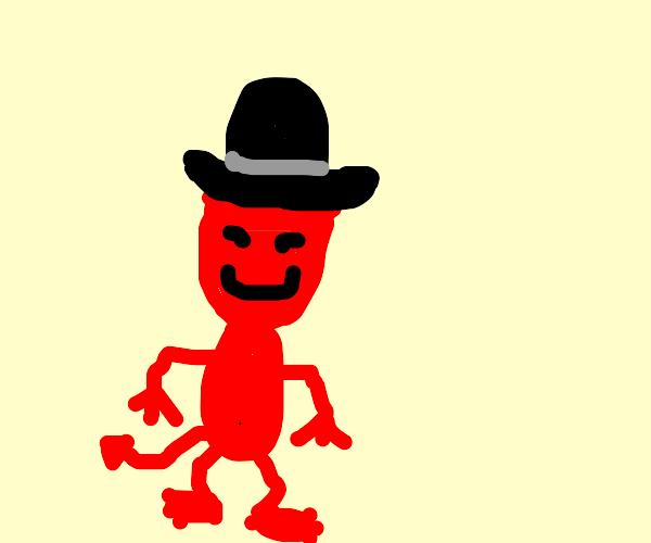 Demon wearing a Hat
