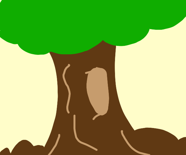 Thick tree