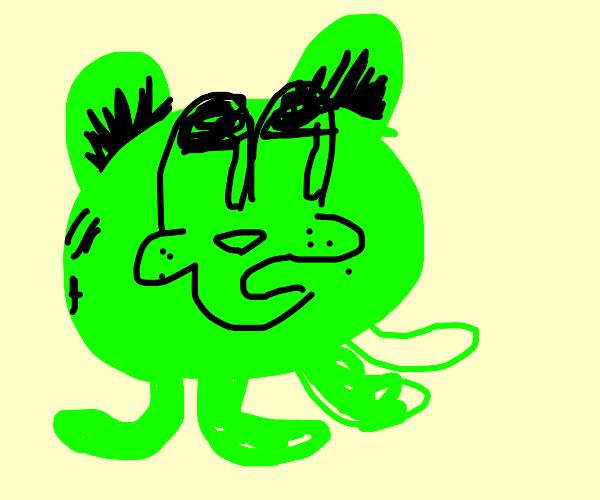 alien garfield