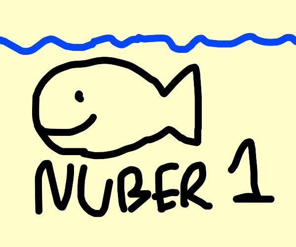 Number 1 swimmer