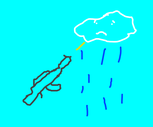 Shooting a cloud