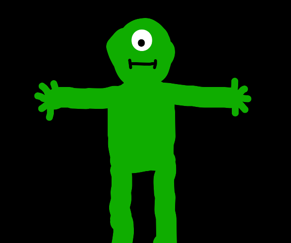 t posing creature like nothing
