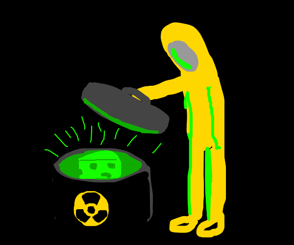 shocking radioactive cheese