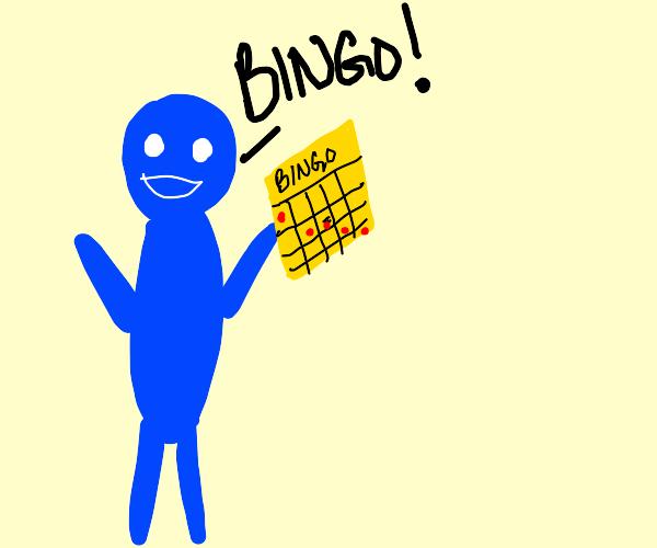 Bluey with Bingo