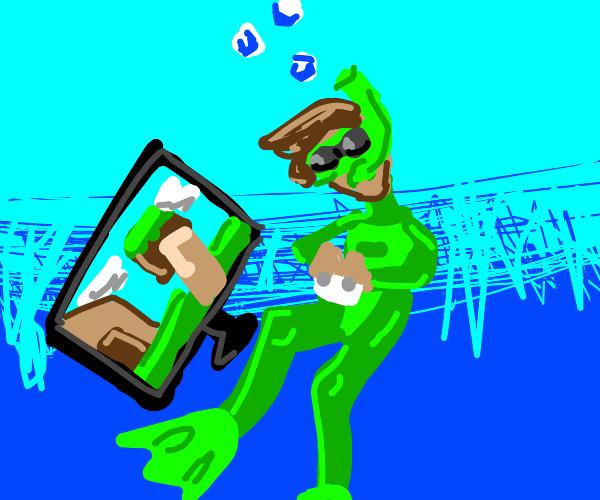 Underwater Gamer
