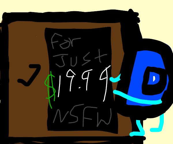 The Closet where Drawception keeps the NSFW