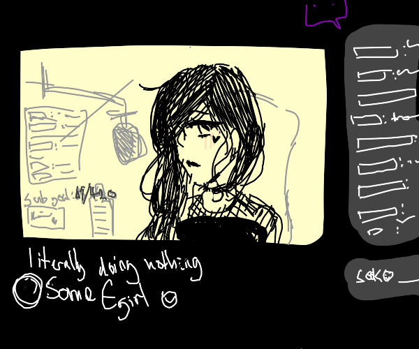 Goth Egirl Streamer