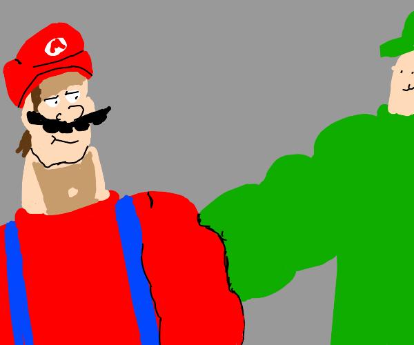 Mario and luigi got buff