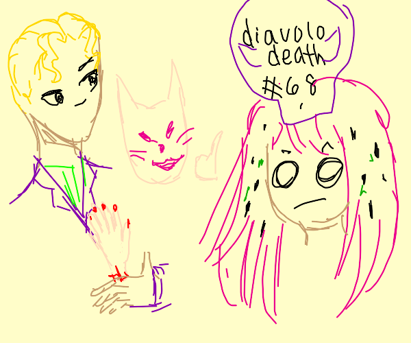 killer queen kills diavolo?