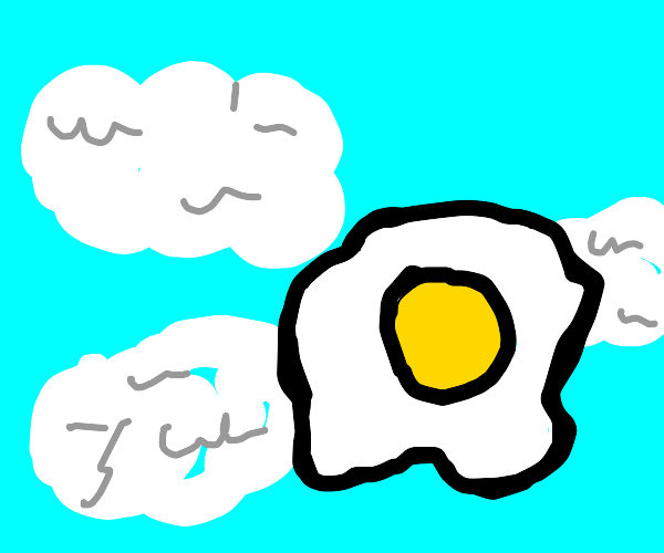 flying egg?