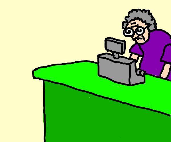 Old Cashier
