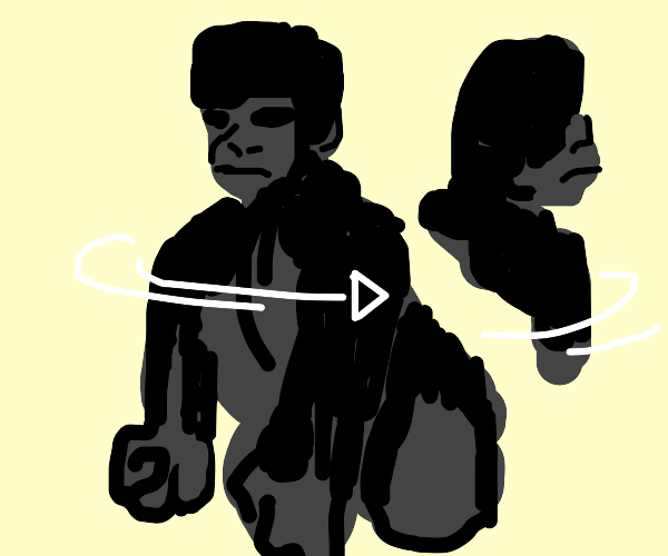 Spinning Gorilla