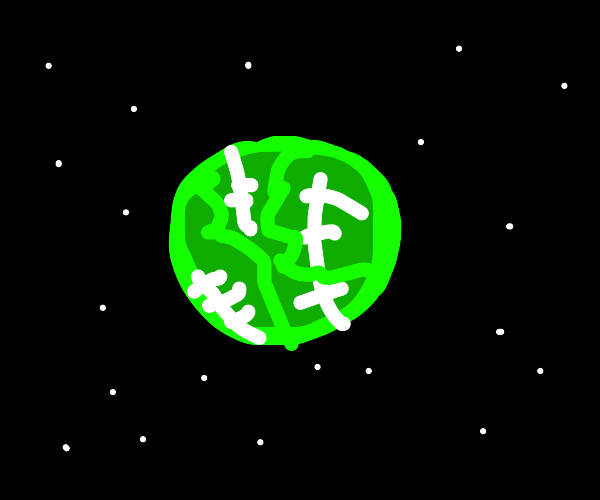 cabbage in space