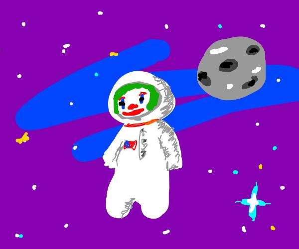 Big Brain Clown Astronaut