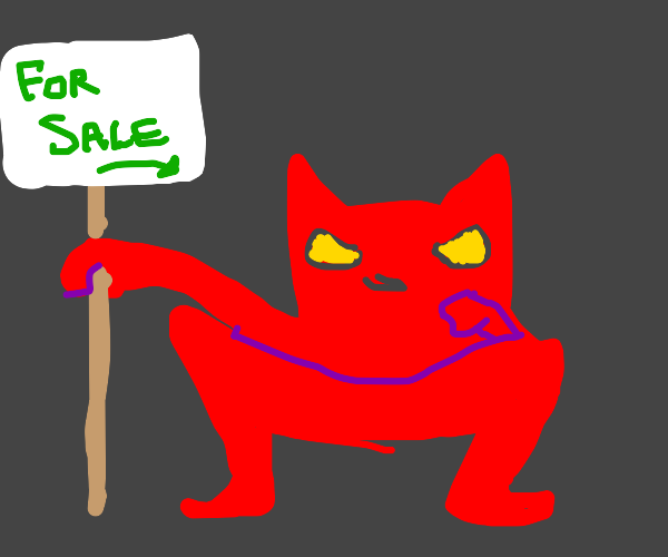 satan puts himself up for sale