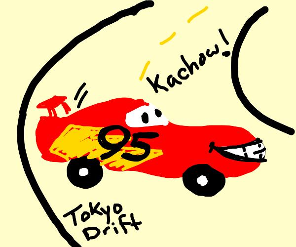 car goes skrrt skrrt (drifting car)