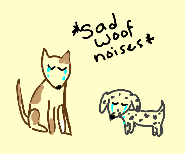 crying dogs